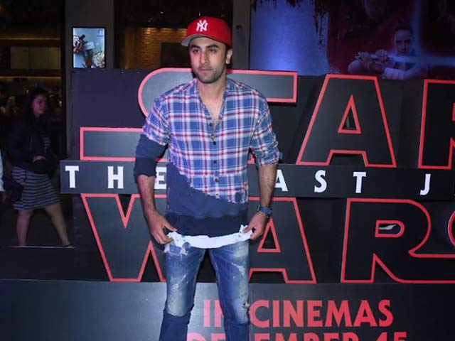 Video : Excited About <i>Star Wars: The Last Jedi</i>? So Is Ranbir Kapoor