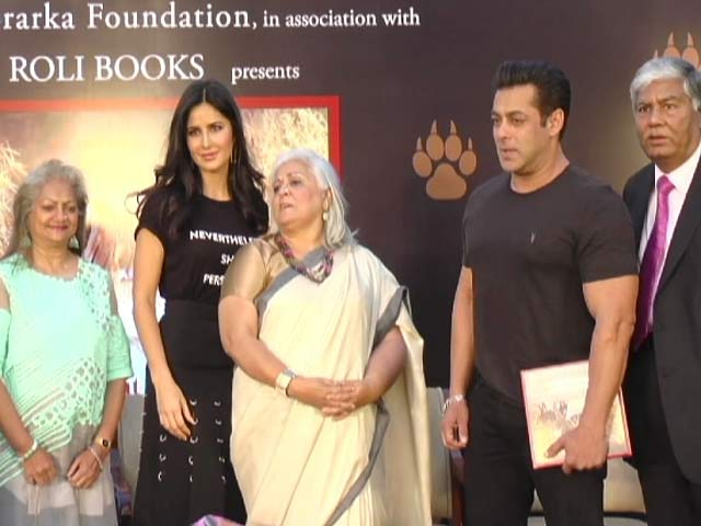 Video : Salman Khan Talks About Wildlife Conservation At A Book Launch