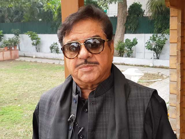 Video : Anything But 'Khamosh', Shatrughan Sinha Hits Out At His Own Party BJP