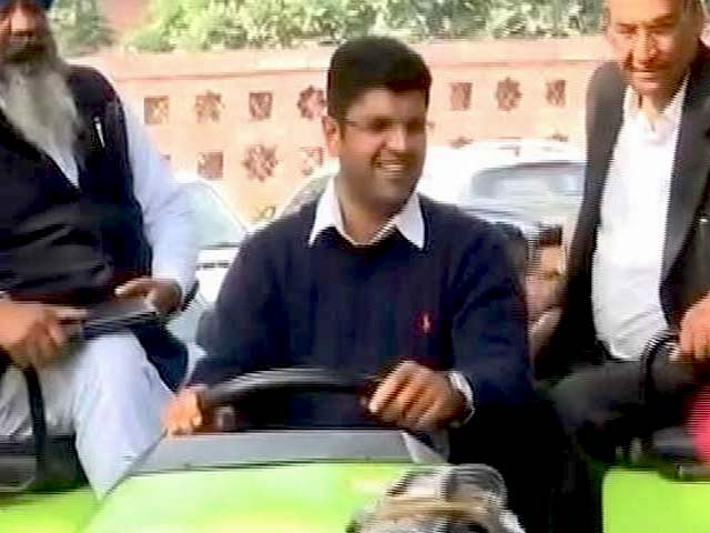 Video : Lawmaker Rides Tractor To Parliament. He Has A Reason