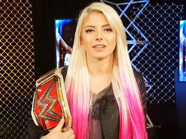 Video : You Don't Need To Be Tall To Be A Champion, Says Alexa Bliss