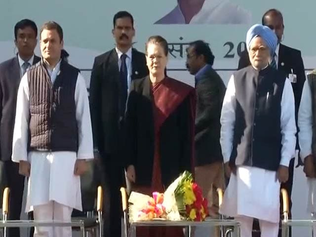 Video : Rahul Gandhi Takes Over As Congress President As Sonia Gandhi Retires