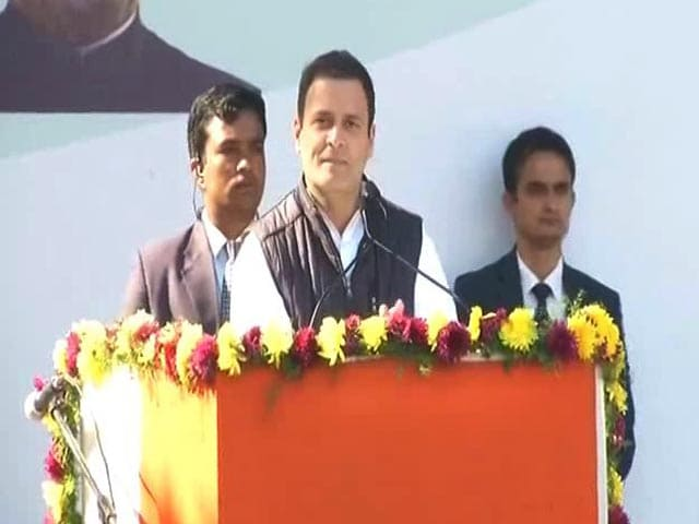 "Video : ""PM Taking Us Back To Medieval Times,"" Says Congress Chief Rahul Gandhi"