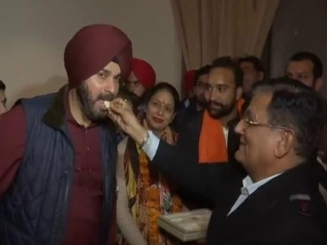 Video : Congress Sweeps Civic Body Polls In Amritsar, Jalandhar, Patiala