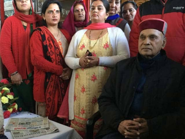 Video : As BJP Sweeps Himachal, Defeat For Chief Ministerial Candidate PK Dhumal
