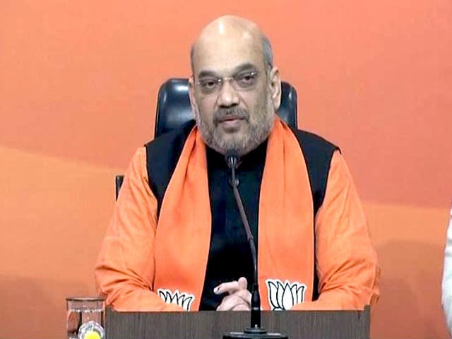 "Video : ""Politics Of Performance"" Wins In Gujarat And Himachal Pradesh: Amit Shah"