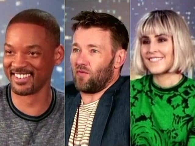 The Bright Stars: Will Smith, Joel Edgerton & Noomi Rapace