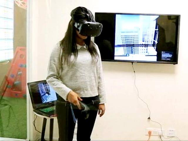 Video : A Unique Use of Virtual Reality