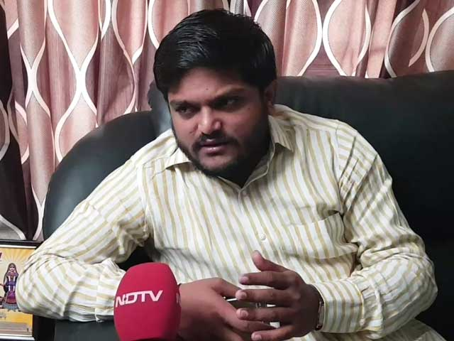 "Video : ""I Did Win Seats For Congress In Gujarat"", Says Hardik Patel"