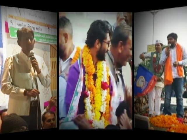 Video : The 3 Young Turks Who Gave BJP A Tough Time In Gujarat