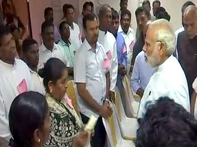 Video : Will Spare No Effort, PM Modi Tells Fishermen Hit By Cyclone Ockhi