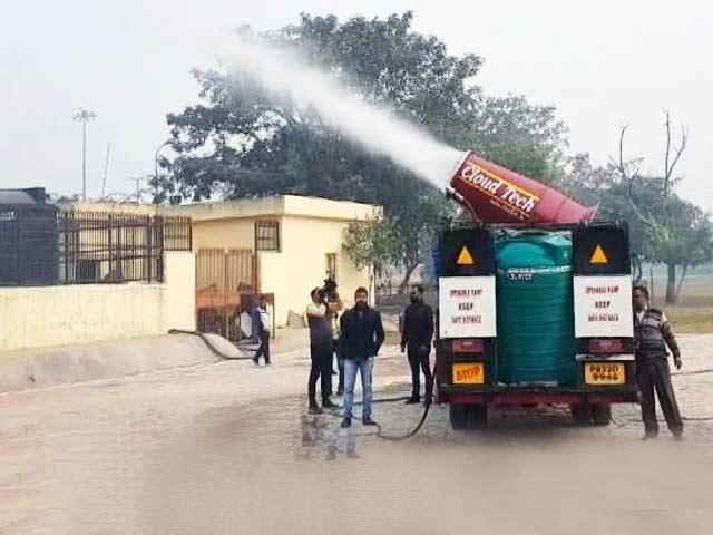 Videos : दिल्ली में एंटी स्मॉग गन का ट्रायल