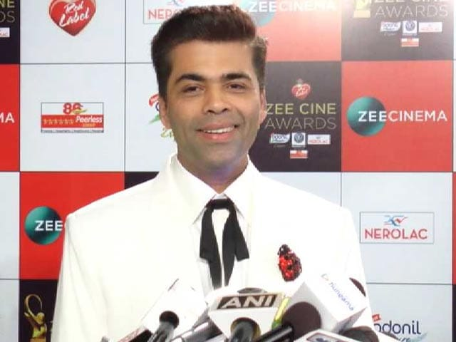 Karan Johar On Hosting An Award Function With Rohit Shetty