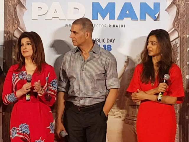 Video : What Twinkle Khanna And Radhika Apte Said About Menstruation