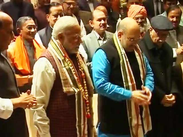 Video : 'We Rule 19 States, Even Indira Gandhi Had 18': Emotional PM At BJP Meet