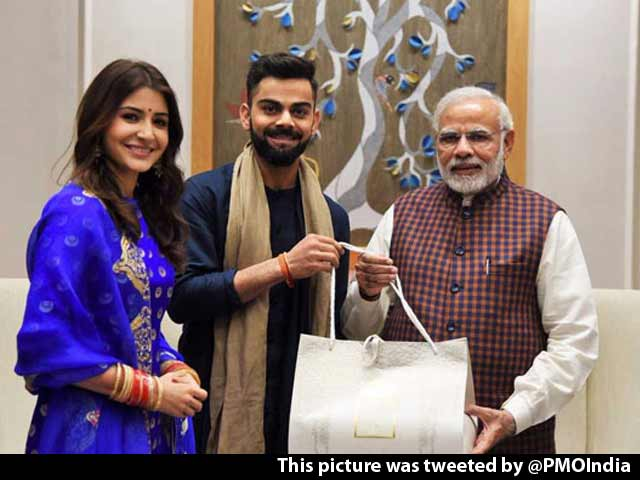 Anushka Sharma, Virat Kohli Invited PM Modi To Their Wedding Reception