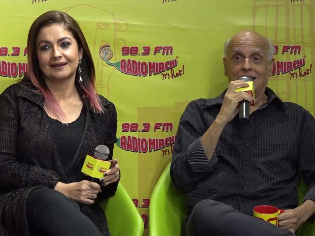 Mahesh Bhatt In Conversation With Daughter Pooja Bhatt