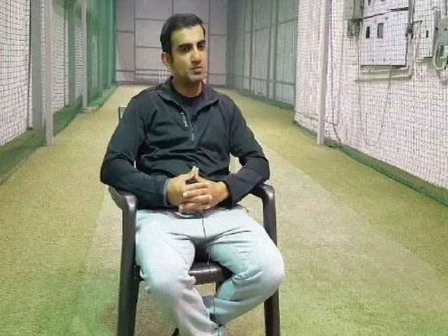 Videos : गौतम गंभीर ने NDTV से बातचीत में बेबाकी से रखी राय