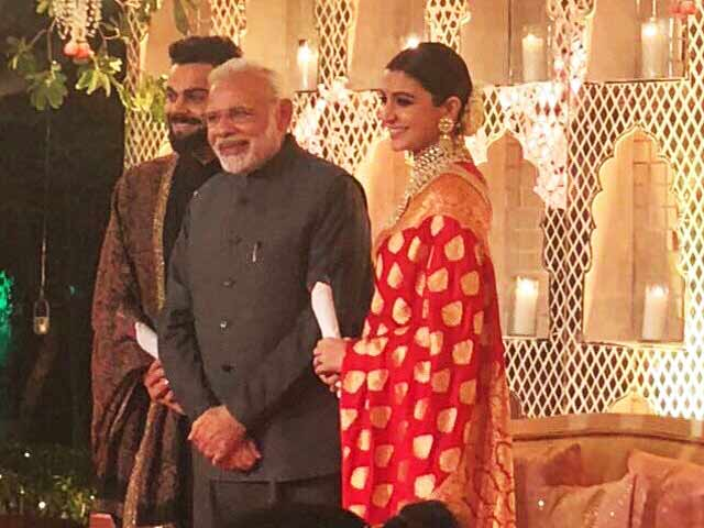 Anushka Sharma And Virat Kohli's Delhi Reception: Yes, PM Modi Was There