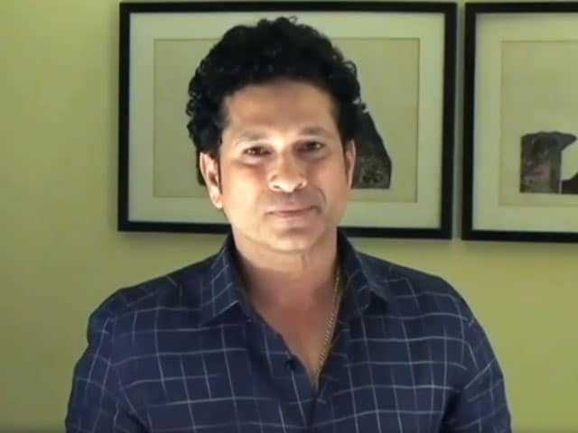 Video : Watch: My Vision Is A Healthy And Fit India, Says Sachin Tendulkar