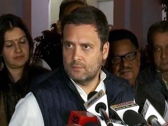 Videos : बीजेपी की बुनियाद झूठ पर, एक-एक कर झूठ बाहर आ रहे हैं : राहुल गांधी