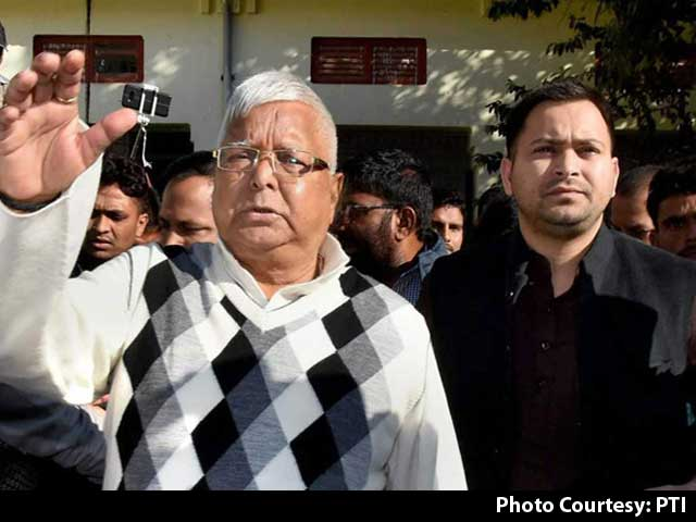 Video : Lalu Yadav Convicted In Fodder Scam Case, Taken To Jail