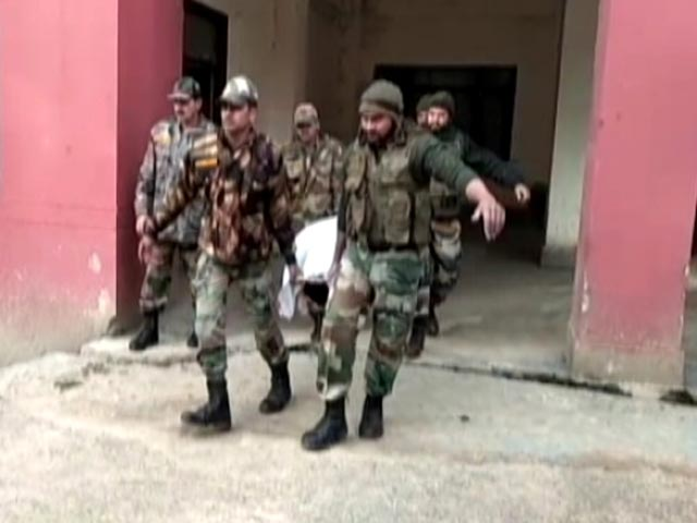 Video : Jammu And Kashmir: Forces Hit Back After Ambush