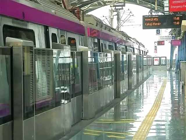 Video : PM Modi To Launch Section Of Delhi Metro's Magenta Line, Kejriwal Not Invited