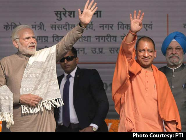 Video : What Noida 'Jinx', Scoffs PM Modi, Praising Yogi Adityanath