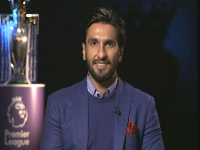 No Doubt Manchester City Will Win The League, Says Actor Ranveer Singh