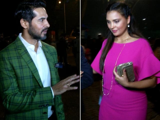 Spotted! Lara Dutta & Dino Morea On Christmas Eve