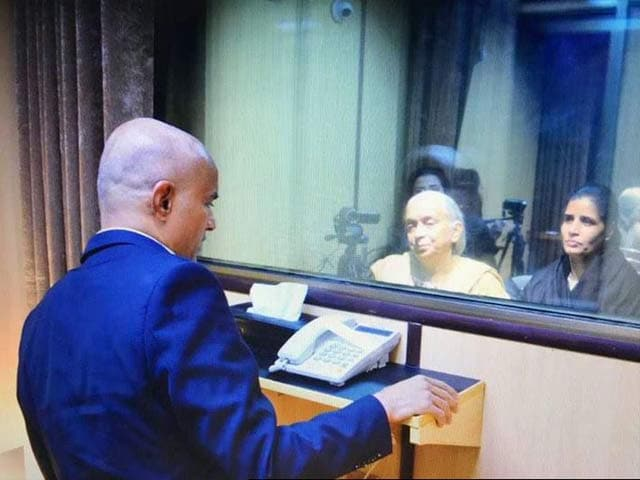 Video : Jadhav Was Under Stress; Wife And Mother Had To Change For Meeting: India