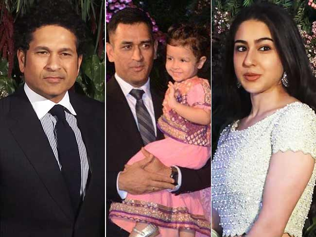 Watch! Sara Ali Khan, Dhoni, Tendulkar At Anushka & Virat's Reception