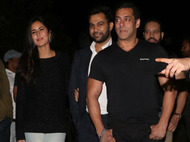 Watch! Katrina Kaif With Salman Khan On His 52nd Birthday