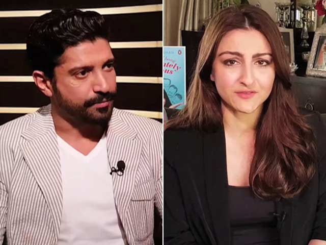 Video : Farhan Has A New Year Surprise, Soha On Her Filmy Family