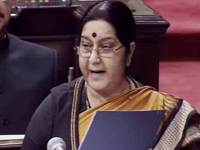 Video : Pak Used Jadhav Family Reunion As Propaganda Tool, Says Sushma Swaraj