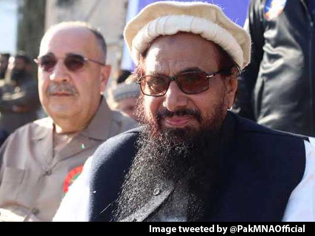 Video : Palestine Recalls Ambassador To Pak Over Appearance With Hafiz Saeed