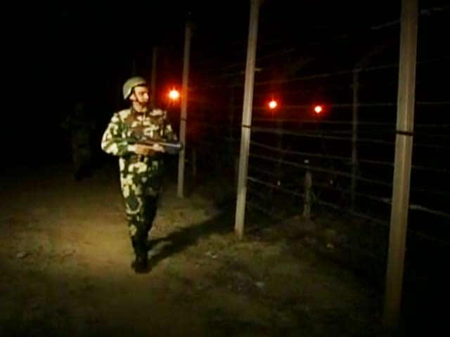 video after brief new year celebrations bsf jawans return to border patrolling