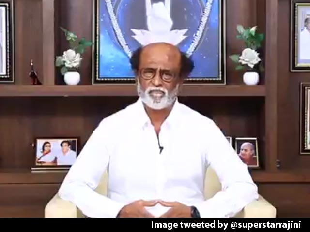 Video : Rajinikanth Counts On Voters, Volunteers Disillusioned By Other Parties