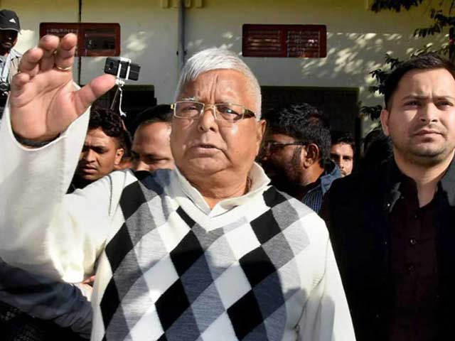 "Video : Lalu Yadav Tells Court It's Too Cold In Jail. ""Play The Tabla,"" Says Judge"