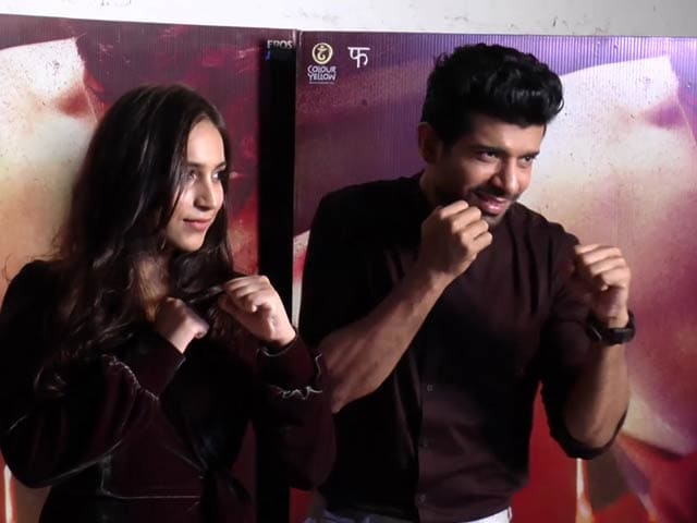 Video : Cast & Crew Of <i>Mukkabaaz</i> On Their Upcoming Sports Film