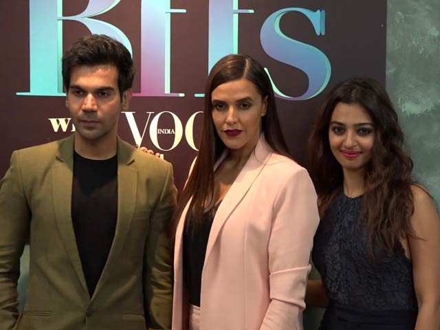 Video : Watch! Rajkummar Rao, Neha Dhupia & Radhika Apte's Spicy Conversation