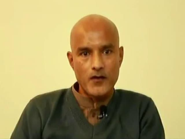 "Video : ""Another Coerced Statement"": Government On New Kulbhushan Jadhav Video By Pakistan"
