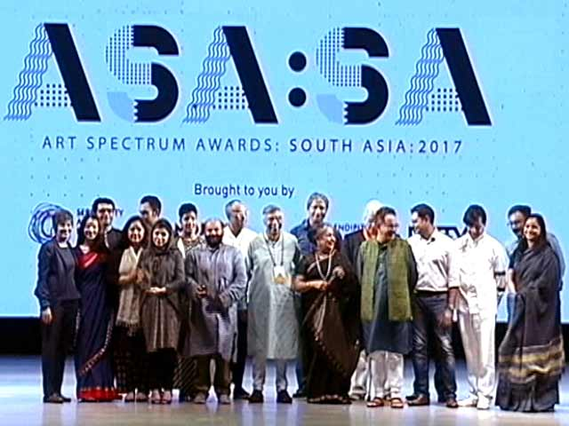 Video: First Ever Art Spectrum Awards: South Asia 2017