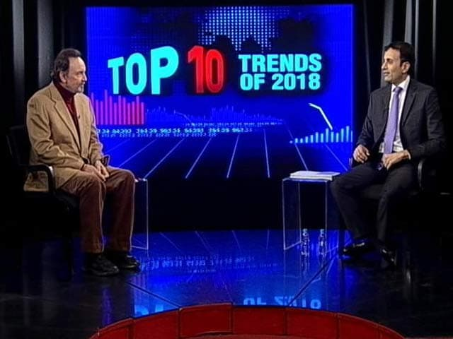 Video : Prannoy Roy And Ruchir Sharma On Top 10 Economic Trends Of 2018