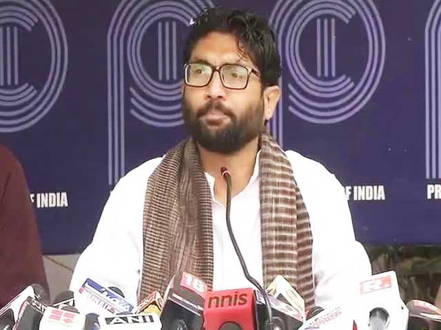 Video : Will March To Meet PM Modi With These 2 Books For Him, Says Jignesh Mevani