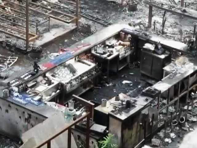 Videos : Top News@8 : चारकोल जलाने से भड़की थी कमला मिल्स कंपाउंड में आग