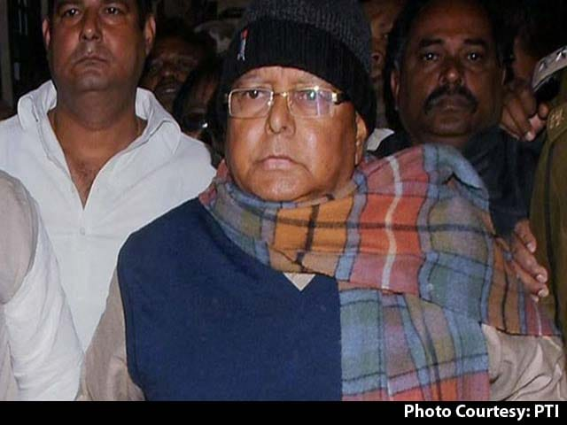 Video : Lalu Yadav Gets 3.5 Years In Jail, 10 Lakh Fine In Fodder Scam