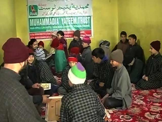 Video : In Kashmir Orphanages, Efforts To Provide Children More Than Just A Roof