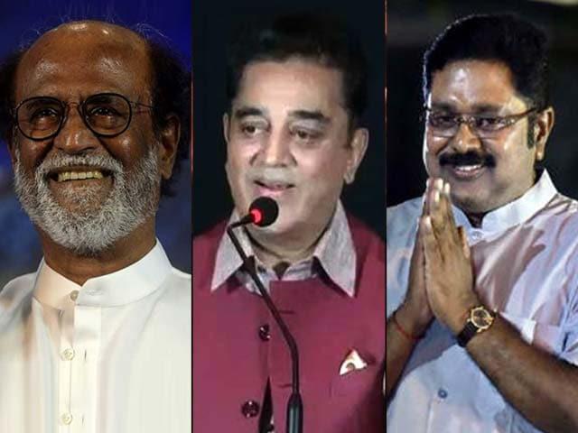 Video : Rajinikanth, Kamal Haasan, Dhinakaran: New Game Changers in Tamil Nadu